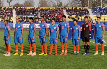 India suffered a 0-3 loss to Uzbekistan in the AFC Under 23 Championship Qualifiers