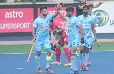 Korea hold Indian Men's Hockey Team to 1-1 draw