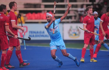 Mandeep Singh scores hat-trick in India's 7-3 win against Canada