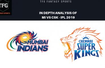 TFG Fantasy Sports: Stats, Facts & Team for Mumbai Indians v Chennai Super Kings