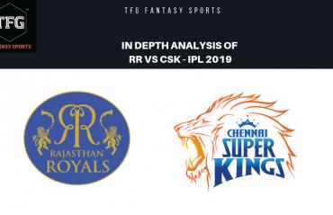TFG Fantasy Sports: Stats, Facts & Team for Rajasthan Royals v Chennai Super Kings