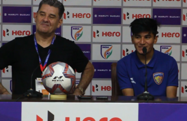 WATCH - Anirudh Thapa can do what he wants, says Chennaiyin FC coach John Gregory