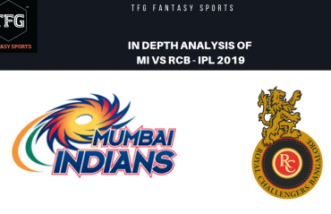 TFG Fantasy Sports: Stats, Facts & Team for Mumbai Indians v Royal Challengers Bangalore