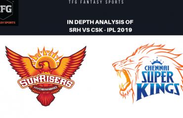 TFG Fantasy Sports: Stats, Facts & Team for Sunrisers Hyderabad v Chennai Super Kings