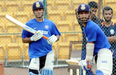 Rahane, Binny may get look-in against SA in third T20I after intense practice