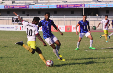 WATCH FULL MATCH -- Santosh Trophy -- Services beat Karnataka in penalties to reach final