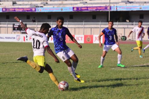 WATCH FULL MATCH -- Santosh Trophy -- Services beat Karnataka in penalties to reach final