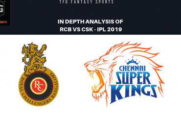 TFG Fantasy Sports: Stats, Facts & Team in Hindi for Royal Challengers Bangalore vs Chennai Super Kings