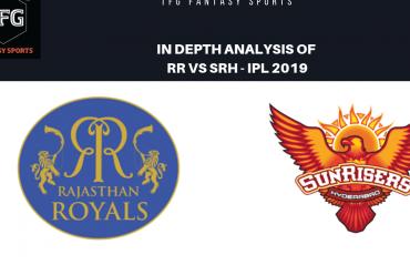 TFG Fantasy Sports: Stats, Facts & Team for Rajasthan Royals v Sunrisers Hyderabad