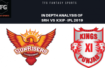 TFG Fantasy Sports: Stats, Facts & Team for Sunrisers Hyderabad v Kings XI Punjab