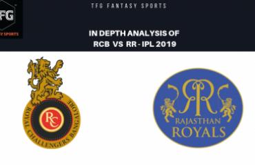 TFG Fantasy Sports: Stats, Facts & Team in Hindi for Royal Challengers Bangalore v Rajasthan Royals