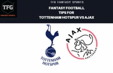 TFG Fantasy Sports: Fantasy Football in Hindi tips for Hotspurs vs Ajax -- UEFA Champions League