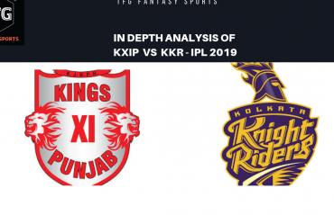 TFG Fantasy Sports: Stats, Facts & Team for Kings XI Punjab v Kolkata Knight Riders
