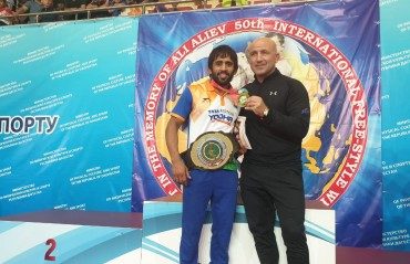 Bajrang wins Ali Aliev, cements his spot on top of World Rankings