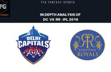 TFG Fantasy Sports: Stats, Facts & Team for Delhi Capitals v Rajasthan Royals