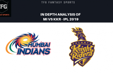 TFG Fantasy Sports: Stats, Facts & Team for Mumbai Indians v Kolkata Knight Riders