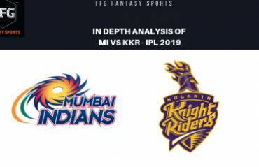TFG Fantasy Sports: Stats, Facts & Team in Hindi for Mumbai Indians v Kolkata Knight Riders