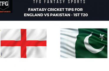 TFG Fantasy Sports: Stats, Facts & Team for England v Pakistan 1st T20