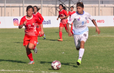 WATCH FULL MATCH -- Sabitra scores four, Grace gets a brace. Sethu down Manipur Police in a game of glorious excess