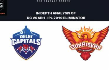 TFG Fantasy Sports: Stats, Facts & Team in Hindi for Delhi Capitals v Sunrisers Hyderabad Eliminator