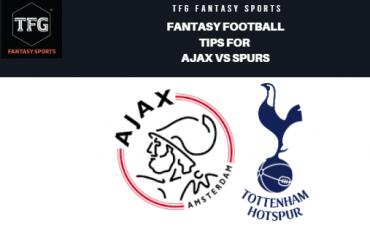 TFG Fantasy Sports: Fantasy Football tips for Ajax vs Spurs -- UEFA Champions League