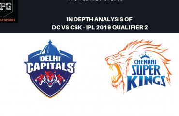 TFG Fantasy Sports: Stats, Facts & Team for Delhi Capitals v Chennai Super Kings qualifier-2