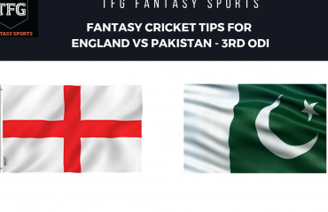 TFG Fantasy Sports: Stats, Facts & Team for England v Pakistan 3rd ODI