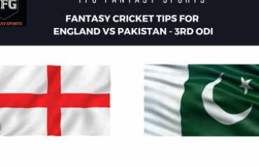 TFG Fantasy Sports: Stats, Facts & Team in Hindi for England v Pakistan 3rd ODI