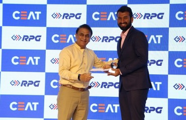 CEAT Cricket Rating (CCR) felicitates outstanding performances in the International and Domestic Arena