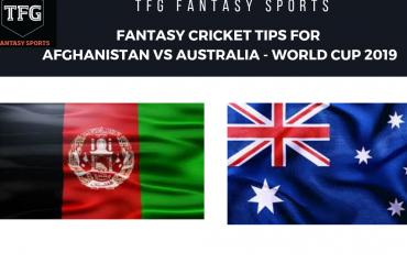 TFG Fantasy Sports: Stats, Facts & Team for Australia v Afghanistan