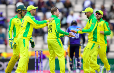 HIGHLIGHTS -- ICC Cricket World Cup 2019 -- Australia brush aside Afghanistan