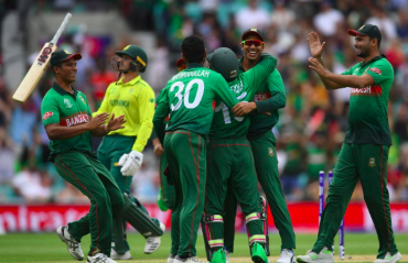 HIGHLIGHTS -- ICC Cricket World Cup 2019 -- Bangladesh pull off stunning upset against South Africa