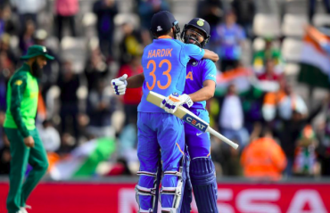 HIGHLIGHTS -- ICC Cricket World Cup 2019 -- Rohit Sharma leads the chase as India beat South Africa