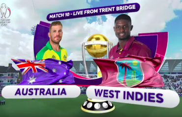 HIGHLIGHTS -- ICC Cricket World Cup 2019 -- West Indies fight hard but lose to Australia