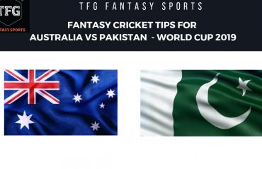 TFG Fantasy Sports: Stats, Facts & Team for Australia v Pakistan