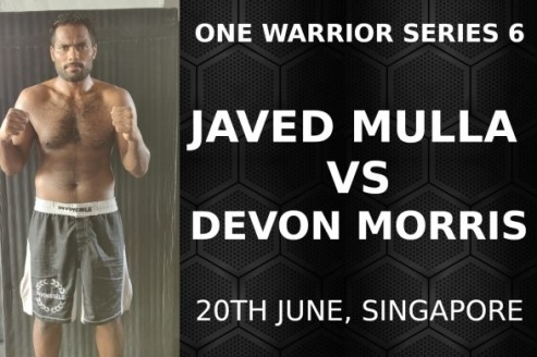 Indian MMA -- Javed Mulla ready for ONE FC's Warrior Series, faces Devon Morris on June 20th
