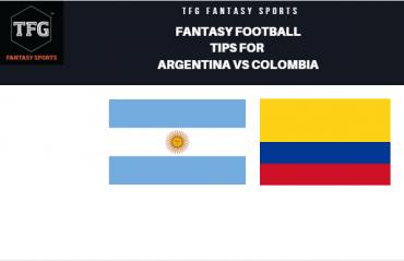 TFG Fantasy Sports: Fantasy  Football tips for Argentina vs Colombia -- Copa America
