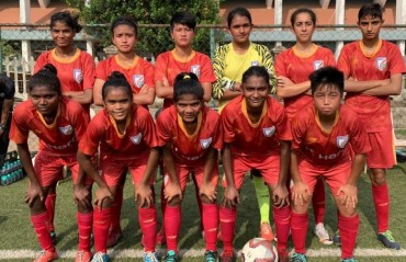 India's Under 17 Women's team have flown to Hong Kong for exposure tour