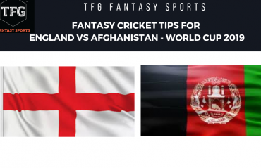 TFG Fantasy Sports: Stats, Facts & Team for England v Afghanistan - CWC 2019