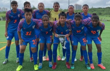 India Under 17 Women's side beat Taibo TBC in Hong Kong exposure tour