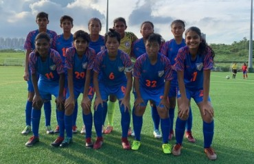 Third victory for the Indian Under 17 Women in Hong Kong exposure tour