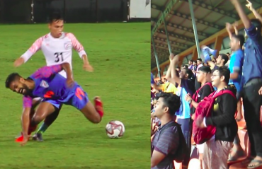 TFG Unplugged -- Fans brace Mumbai rains to cheer for Indian football team at practice match