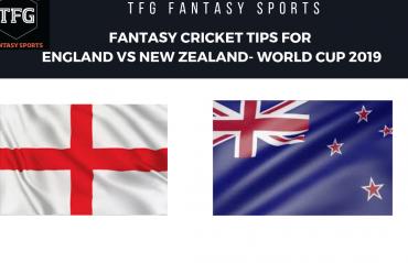 TFG Fantasy Sports: Stats, Facts & Team for England v New Zealand