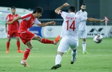 Intercontinental Cup: Tajikistan secure second win in tournament; beat Syria 2-0