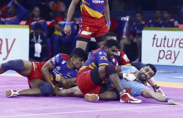 Pro Kabaddi 2019: Bengal Warriors produced a solid all-round display to beat UP Yoddha 48 - 17