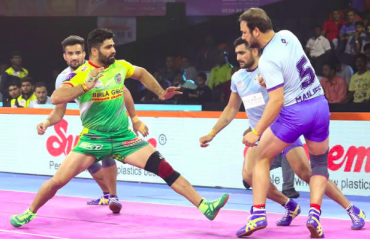 Pro Kabaddi 2019 -- Only one point separates Patna Pirates and Tamil Thalaivas