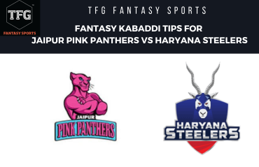 TFG Fantasy Sports: Fantasy Kabaddi tips for Jaipur Pink Panthers vs Haryana Steelers - PKL 2019