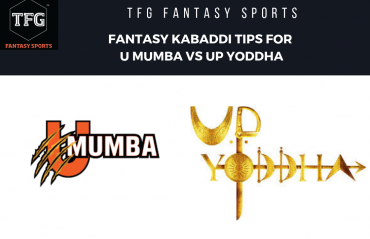 TFG Fantasy Sports: Fantasy Kabaddi tips for U Mumba vs UP Yoddha - PKL 2019