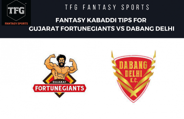 TFG Fantasy Sports: Fantasy Kabaddi tips for Gujarat FortuneGiants vs Dabang Delhi - PKL 2019