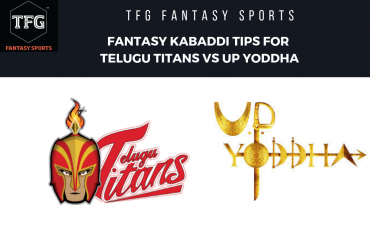 TFG Fantasy Sports: Fantasy Kabaddi tips for Telugu Titans vs UP Yoddha - PKL 2019